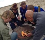 Strandactiviteit Texel