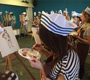 workshop naaktmodel schilderen Texel